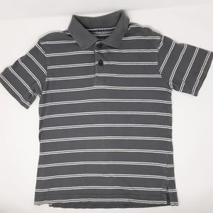 Est 1989 Place | Gray Striped Shirt